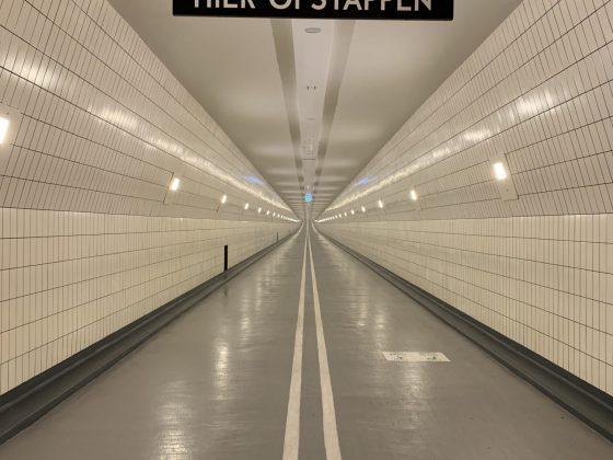 Renovatie Maastunnel fiets- en voetgangerstunnel
